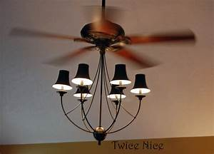 Ceiling fan light combo baby exit