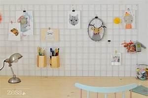 Grille Murale Deco : diy un moodboard de bureau pour 3 fois rien lifestyle mode d co maman diy ~ Teatrodelosmanantiales.com Idées de Décoration