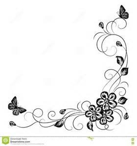 einladung hochzeit modern einfacher blumenhintergrund in schwarzweiss vektor abbildung bild 75117075