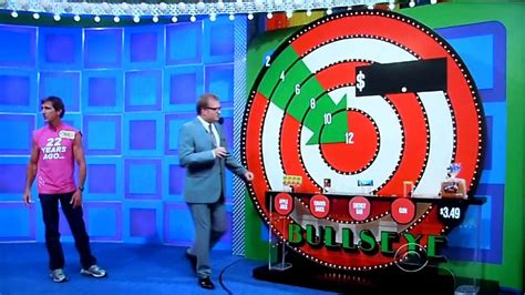 The Price Is Right  Bullseye  142013 Youtube