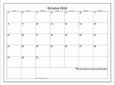 Calendarios octubre 2018 LD Michel Zbinden es