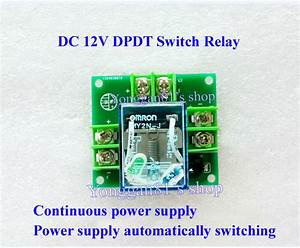 12v 5a Double Pole Double Throw Dpdt Switch Relay Dual