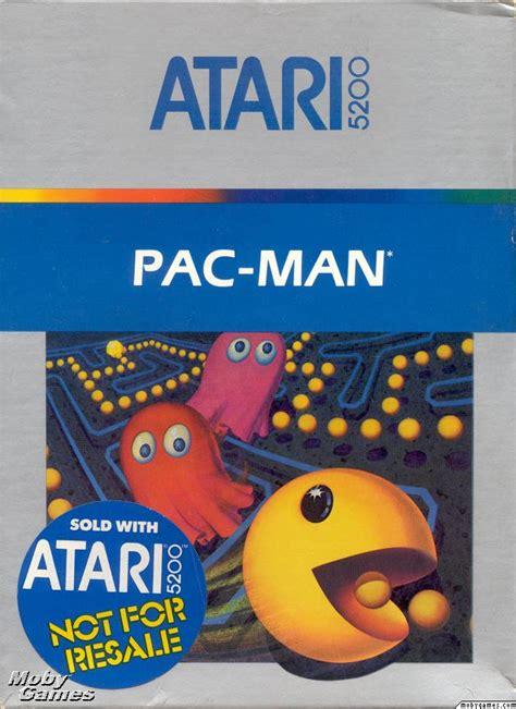 Pac Man Atari 5200 Classic Game Room Wiki Fandom