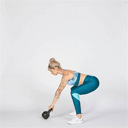 Kettlebell Swing Workout Minute Reps Seconds Move