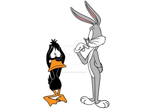 Bugs And Daffy By Jimenopolix On Deviantart
