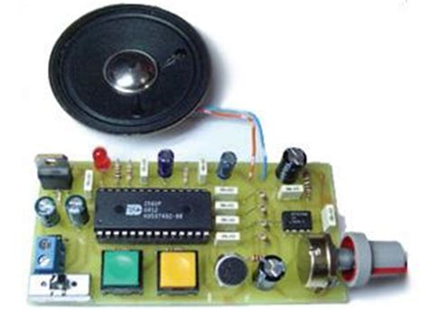 Digital Voice Record Playback Project Isdp