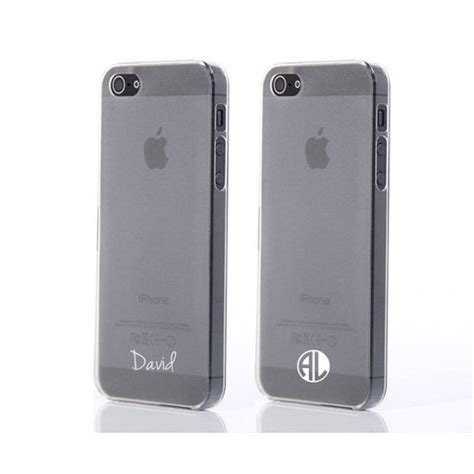 customize iphone 5s two cases pair custom personalized name monogram 13924