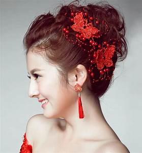 Bride Headdress Korean Jewelry Headdress Flower Dish Hair