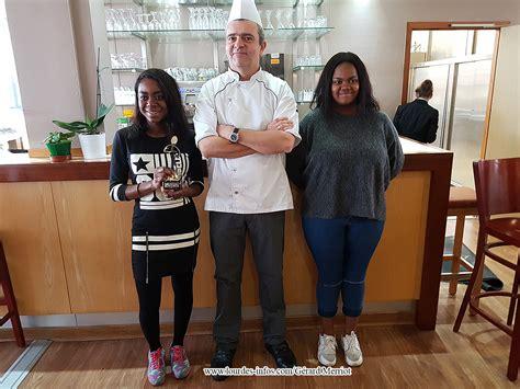 lyc professionnel cuisine deux élèves de terminales bac pro cuisine du lycée l