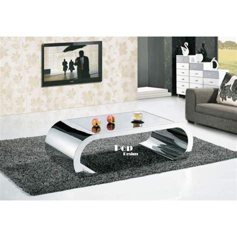 dimension canape angle table basse inox effet miroir pop design fr