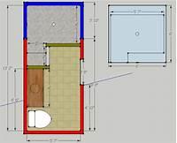 walk in shower dimensions Walk In Doorless Shower Dimensions   Joy Studio Design Gallery - Best Design