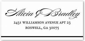 samples of address labels for wedding invitations With best font for wedding invitation address labels