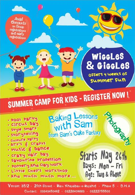 summer camp advertisements examples google search