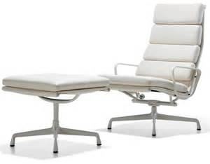 eames 174 soft pad group lounge chair ottoman hivemodern com