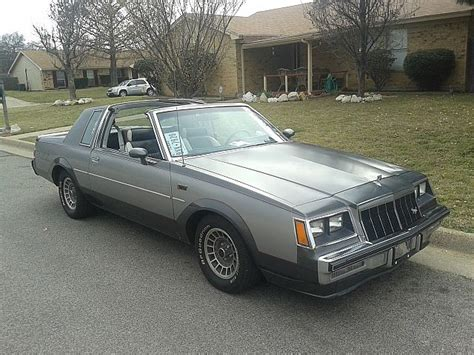 Grand National Car For Sale by 1982 Buick Grand National For Sale Arlington