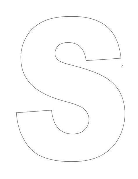 letter s template preschool trace letter s for special handwriting kiddo shelter 320