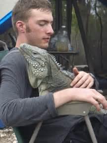 Blue Iguana as Pets