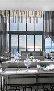 Sunny Isles Beach Mansion | Interior sliding french doors ...