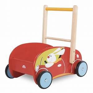 Chariot Bois Bébé : chariot de marche avec freins lapin wonderworld ekobutiks l ma boutique cologique jouets ~ Teatrodelosmanantiales.com Idées de Décoration