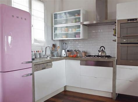 deco cuisine gris déco cuisine violet gris