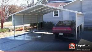 Carport 2 Autos : 2 car boxed eave carport 18 39 x 21 39 shop metal carports ~ A.2002-acura-tl-radio.info Haus und Dekorationen
