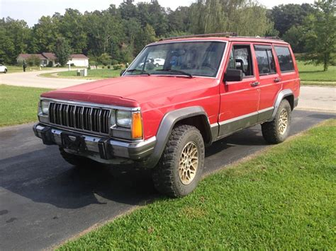 big red jeep big red build jeep cherokee forum