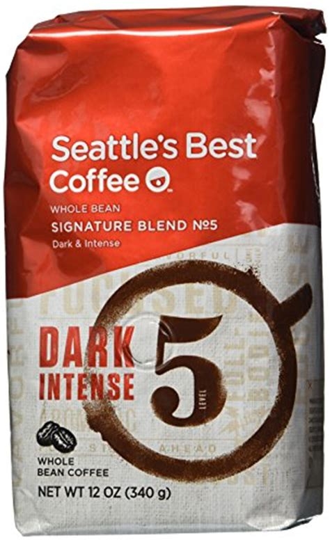 Do you need the best strong coffee in the world that will give you vigor for a whole day? Seattle's Best coffee Level 5, Whole Bean, 12-Ounce Bags ...