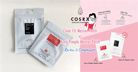 cosrx clear fit master patch cosrx clear fit acne pimple master patch comparison