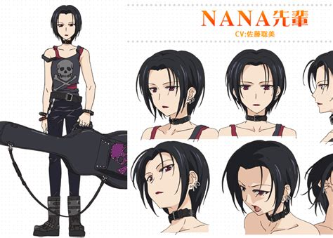 golden time anime japanese name nana senpai from golden time