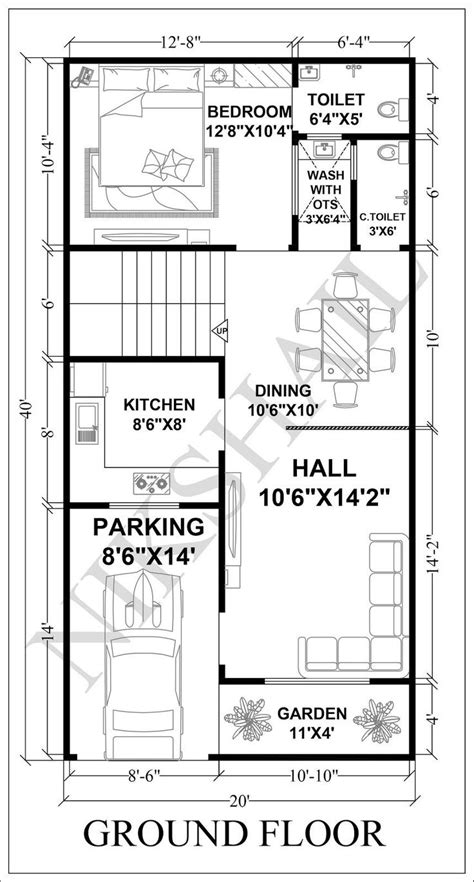 house plan  house plans narrow house plans bhk house plan