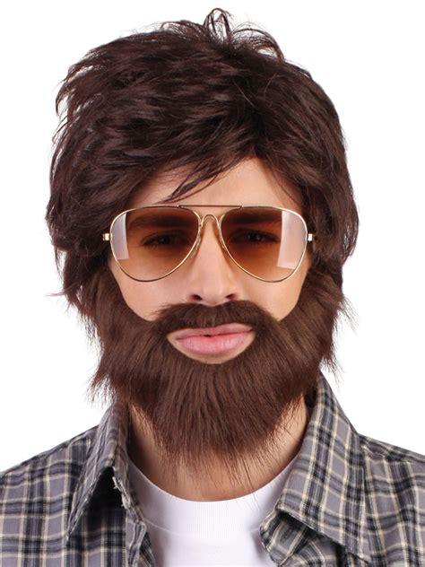 the hangover alan wig moustache 86312 fancy dress ball