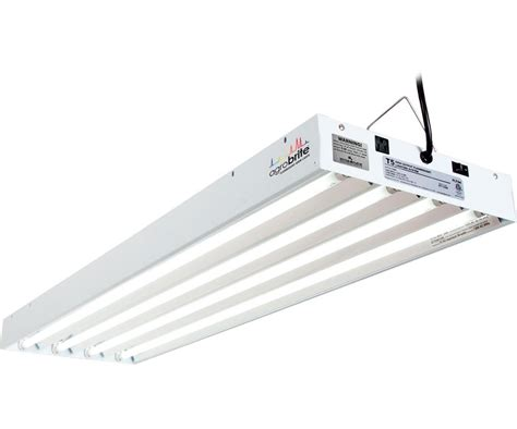 agrobrite t5 216w 4 4 grow light fixture w