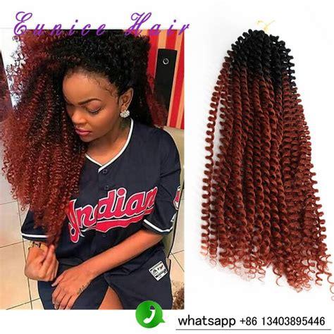 synthetic crochet braids kinky twist braiding hair