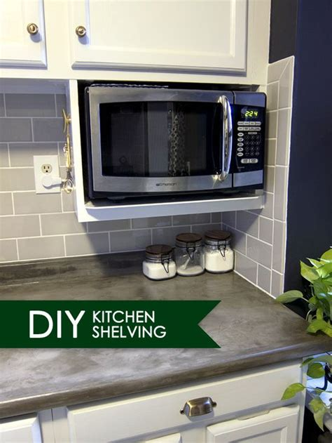 can i put a countertop microwave in a cabinet best 20 microwave shelf ideas on