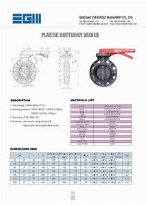 Plastic Butterfly Valve  Lever Operated  View Butterfly