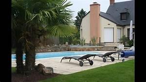 Aménagement Autour D Une Piscine : am nagement contemporain pour une plage de piscine youtube ~ Melissatoandfro.com Idées de Décoration