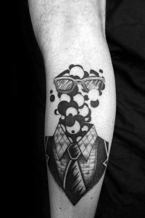 30 Bubble Tattoos For Men - Circular Design Ideas