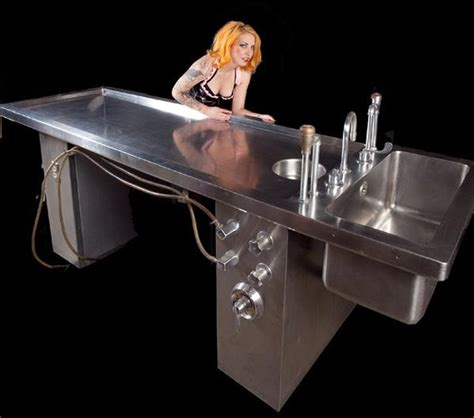 stainless steel autopsy table rental dapper cadaver props