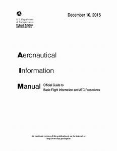 Pdf  Aeronautical Information Manual Official Guide To