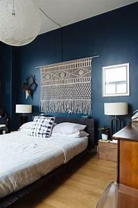 Navy, U0026, Dark, Blue, Bedroom, Design, Ideas, U0026, Pictures