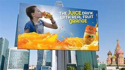 Template Juice Billboard Orange Advertising Banners Graphicsfamily