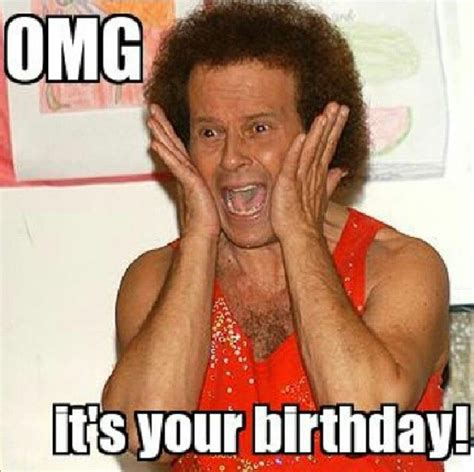 Richard Simmons Memes - happy birthday lol richard simmons humor pinterest happy birthday richard simmons and happy