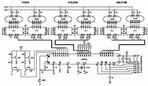 nixie i nixie clock using six zm1030 tubes With nixie clock circuit