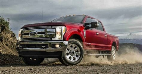ford super duty news  specs  truck models