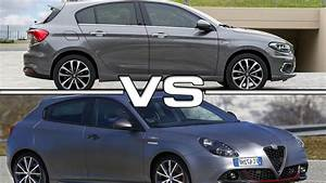 Fiat Giulietta : fiat tipo 5 door vs alfa romeo giulietta veloce youtube ~ Gottalentnigeria.com Avis de Voitures