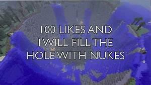 Minecraft 8000 Nuke Explosion Industrial Craft 2 Mod