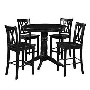 amazon com 5 piece 42 quot round table and tall chair