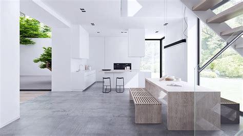 Beautiful Minimalist Interiors by Inspiring Minimalist Interiors With Low Profile Furniture