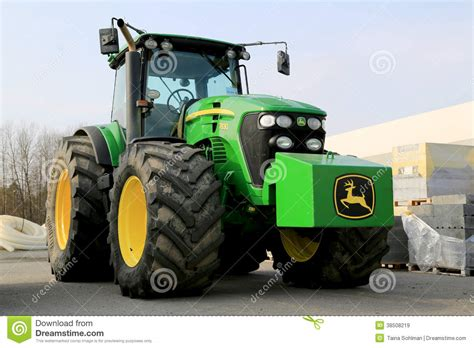 si e de tracteur agricole tracteur agricole de deere 7830 image stock éditorial