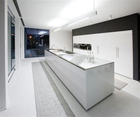 cuisine minimaliste design cuisine ilot central la des cuisines modernes
